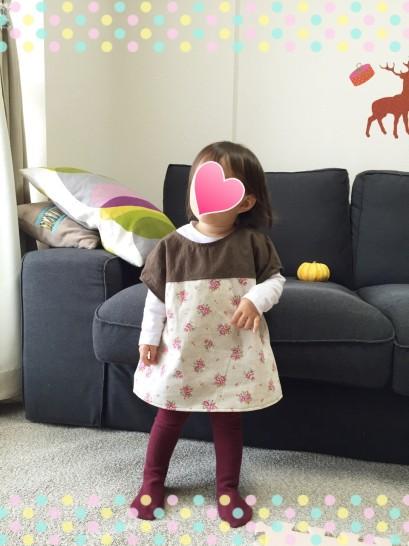 手作り子供服 チュニック 90