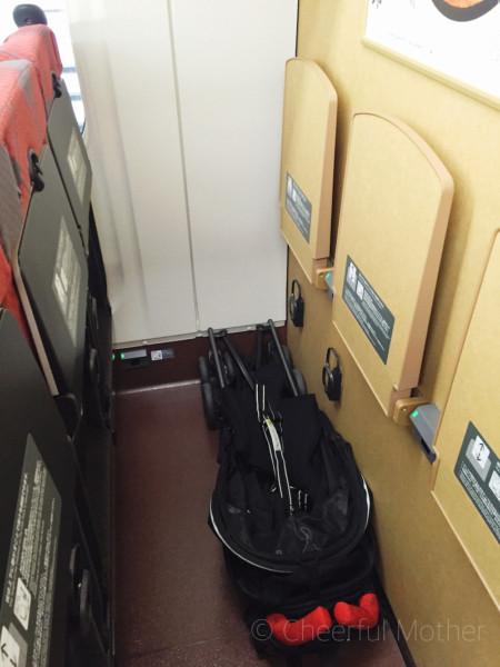 新幹線 ベビーカー