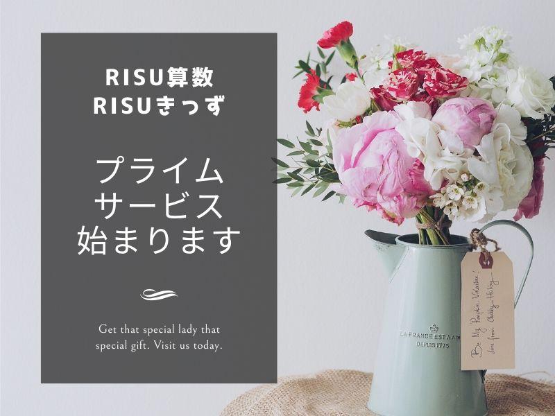 RISU算数のプライムサービス