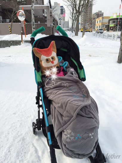 雪 ベビーカー