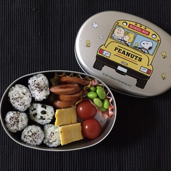 お弁当 幼稚園 スヌーピー
