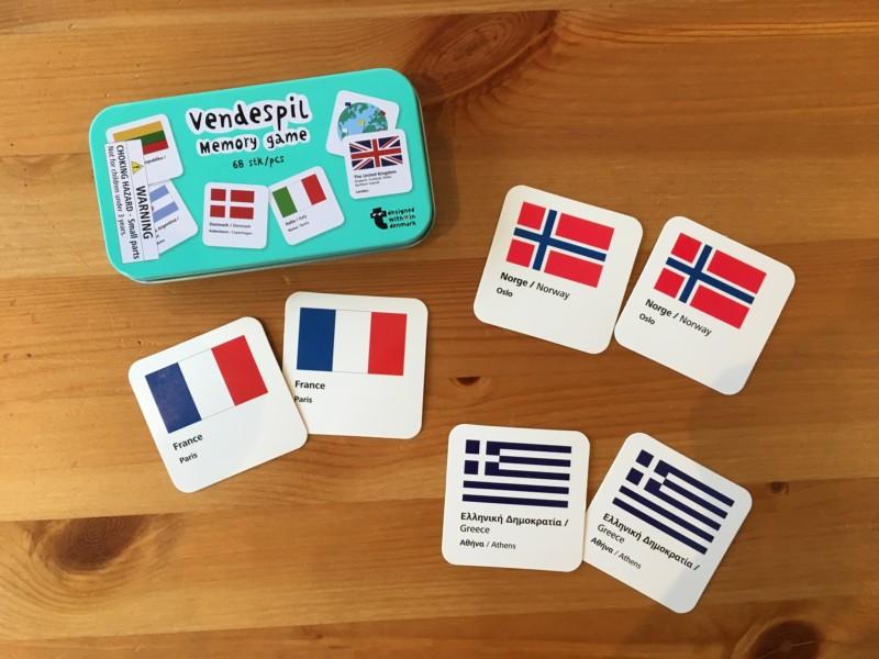 フライングタイガーの国旗カード