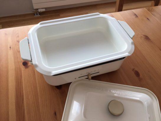 ブルーノコンパクトホットプレート セラミックコート鍋