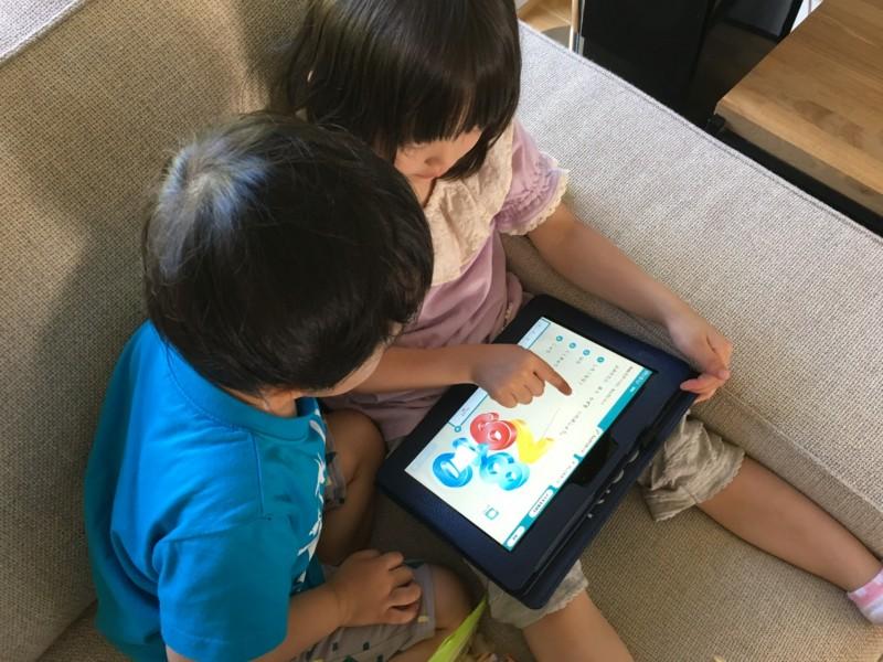 幼児 タブレット学習