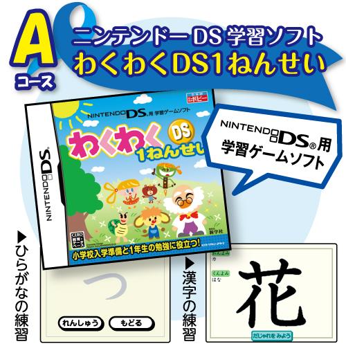 小学ポピーの入会特典(ニンテンドーDSソフト)
