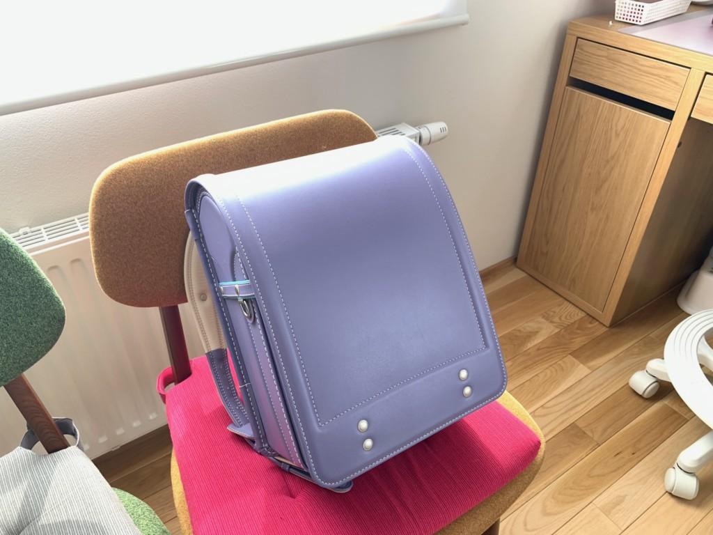 土屋鞄のランドセル(パープル)