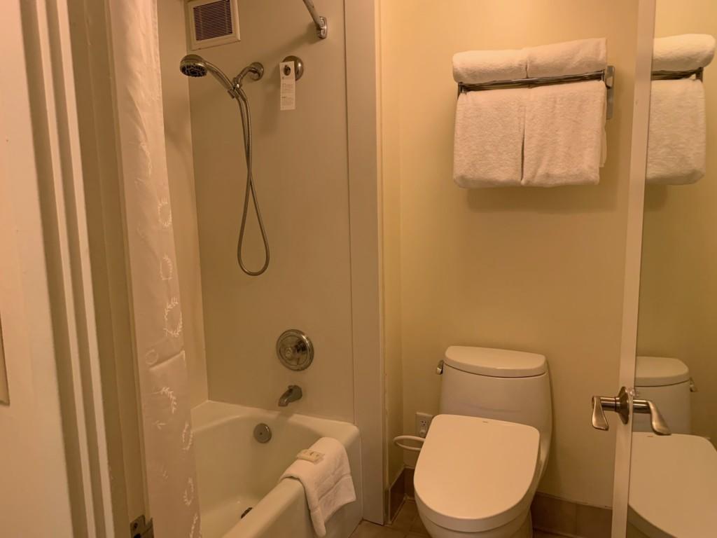 マリアスイートのバス&トイレ