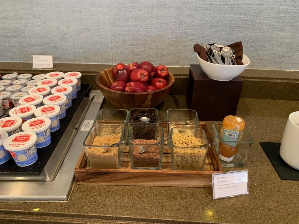 レアヒラウンジの朝食サービス
