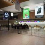 新千歳空港の国際線 出発ロビー