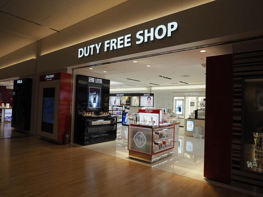 新千歳空港の免税店