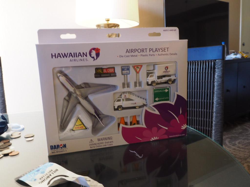 ハワイアン航空のおもちゃ