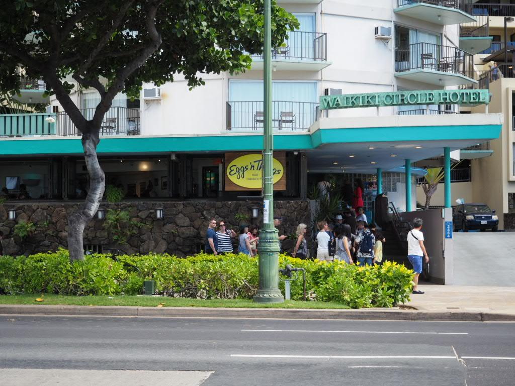エッグスンシングスワイキキビーチエッグスプレス店