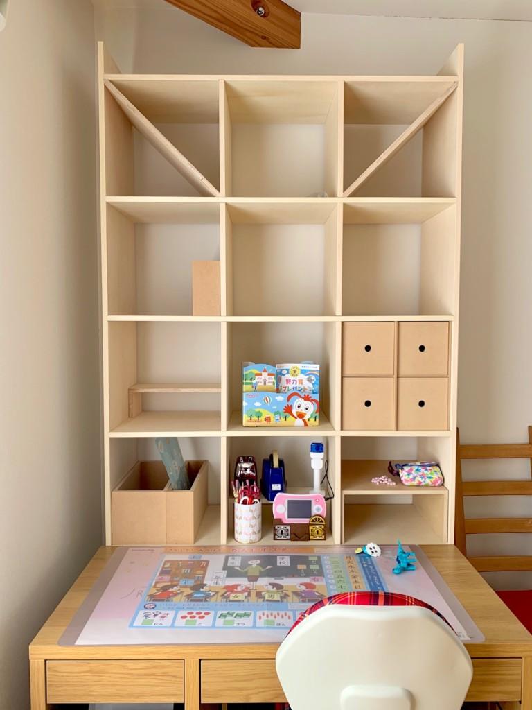 マルゲリータ本棚&IKEAミッケの学習机