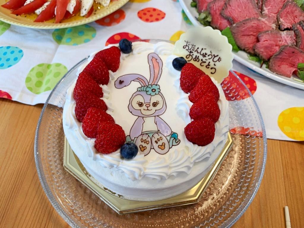 ステラ・ルーのキャラクターケーキ