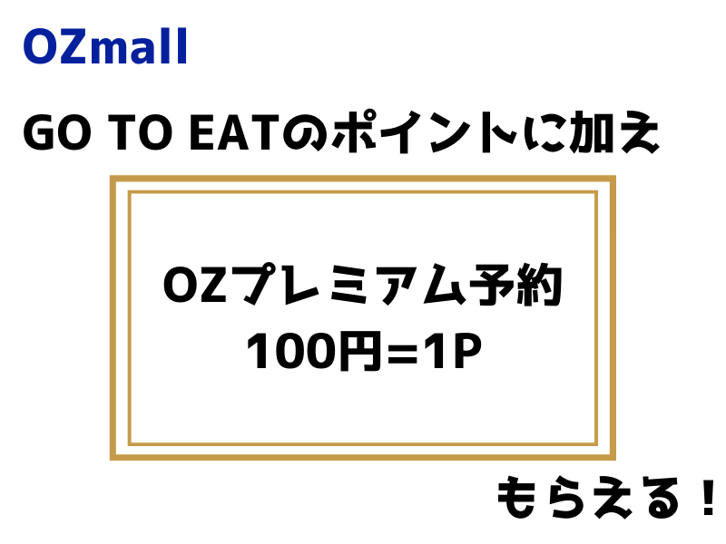 OZmallのGo TO Eat