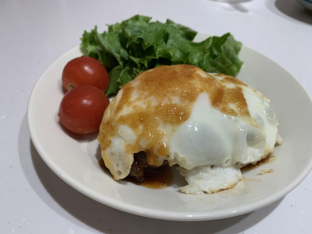 白老町ふるさと納税返礼品の白老牛ハンバーグステーキ