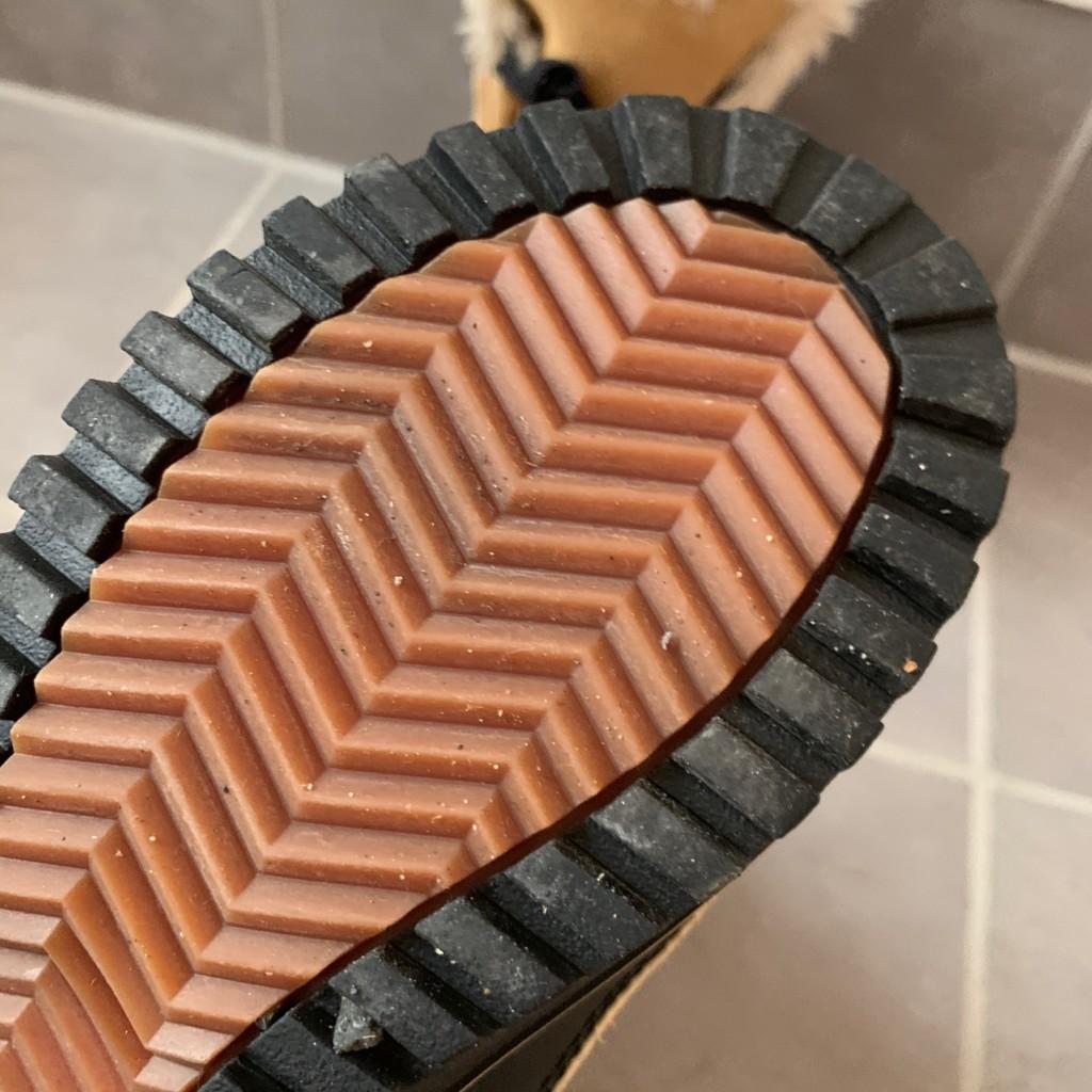 ソレルティボリの靴底