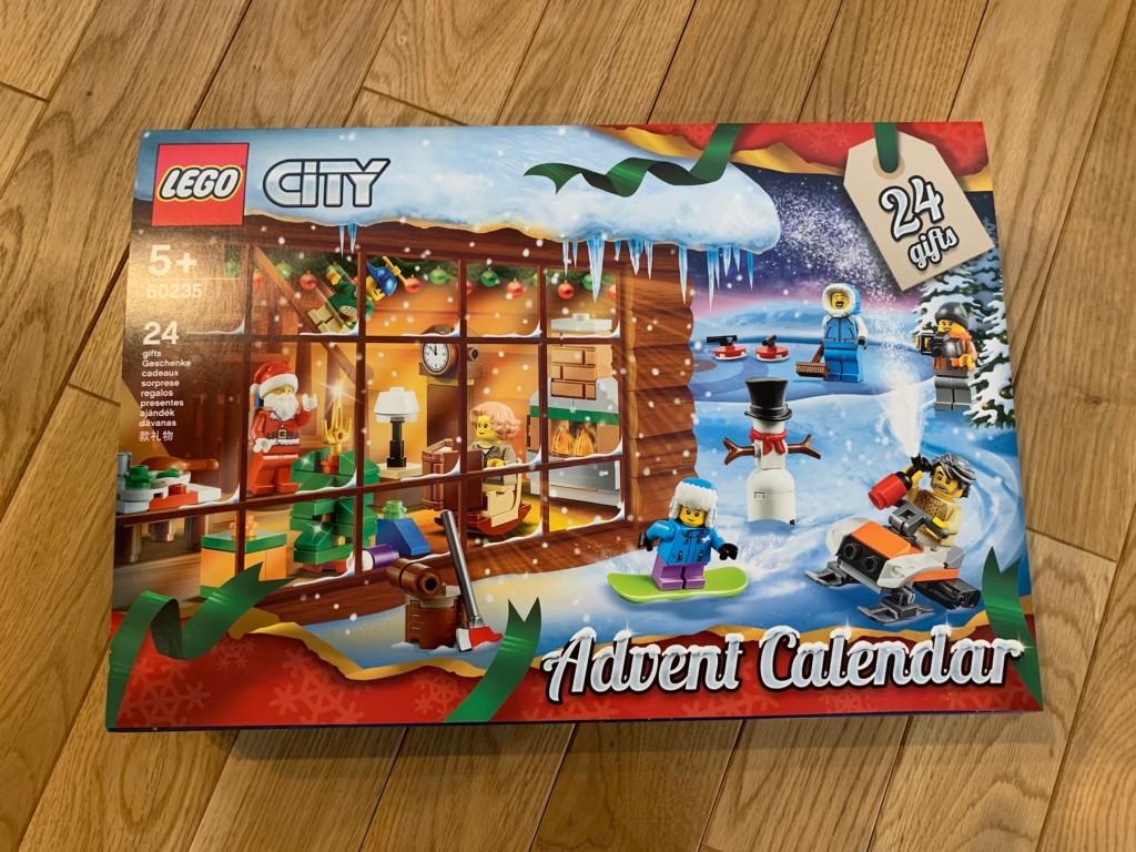 レゴシティのアドベントカレンダー